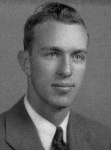 Charles L. Brown as a U.Va. 4th Year in 1943.